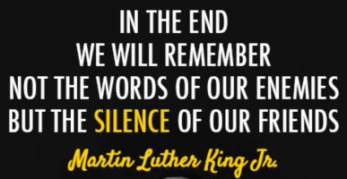 MLK Silence Quote