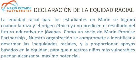 Racial Equity Statement Art - Esp